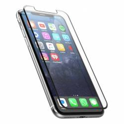 Film en verre trempé complet pour Apple iPhone 6 / 6S Blanc