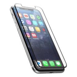 Film en verre trempé complet pour Apple iPhone 6 / 6S Noir