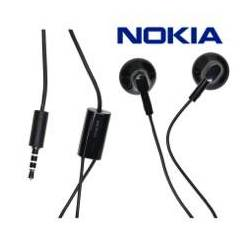 Ecouteur Stéréo WH-108 Intra-auriculaire Nokia Noir