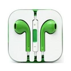 Ecouteur Earpods Compatible Apple Vert